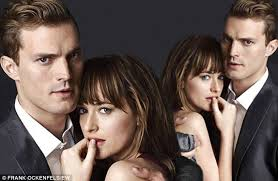FIFTY SHADES OF GREY acteurs Jamie Dorman et Dakota Johnson