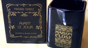bougie maison close