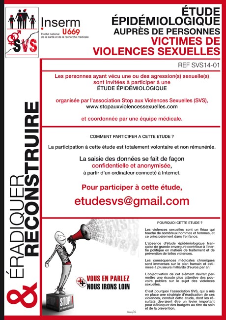 Stop aux violences sexuelles - étude épidémiologique