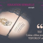 TEST- CREME CALINE pour les fesses – YESFORLOV